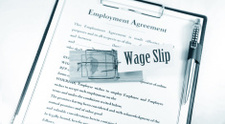 Wage slip