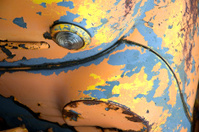 Antique Rusted Truck Closeup