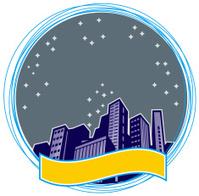 City Skyline Background
