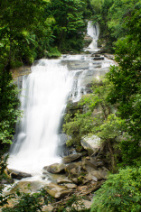 beautiful waterfall in northern Thailand