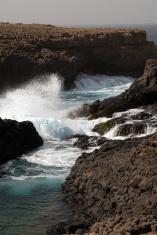 Natural pool in Cabo Verde