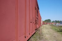 Freight Train Rail Line