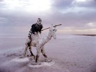 Salt Sculpture on the Chott El Jerid