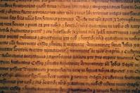 Ancient latin writing