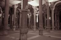 historical roman binbirdirek cistern palace of istanbul turkey