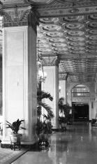 old hotel lobby