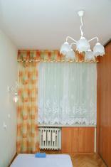 Window covering in bedroom