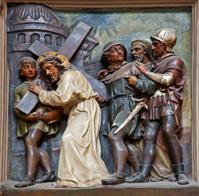 Vienna - Relief of Christ under the cross