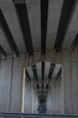 View of a Bridge's underside