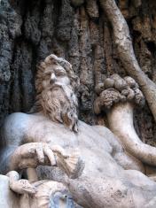 Classical statue in Rome