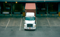 Semi Truck at Loading Dock
