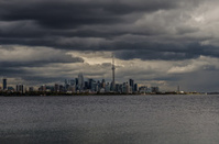 Toronto Skyline Storm