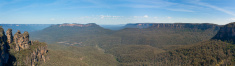 Blue Montains Panorama, NSW, Australia