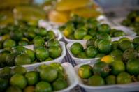 Malaysian lemons, jungle market stall