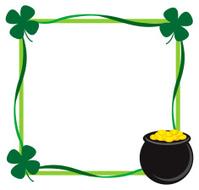 St. Patrick's day border