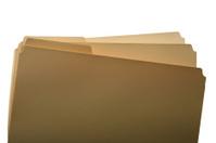 Office manila folder