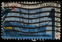 Boston Tea Party, U.S. Postage Stamp