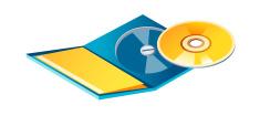 vector icon CD