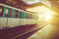 Subway Train Metro Public Transport in Paris