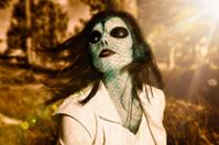 Alien Beauty - Wearing Special Effects Makeup