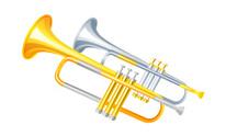 vector icon trumpet
