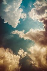 Cloud light sky