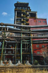 Abandoned steelmaking equipments