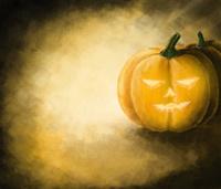 Halloween Pumpkin painting