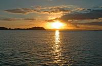 Sunset at Nelsons Bay NSW Australia