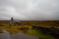 Stormy Derelict House