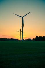 Windturbine farm