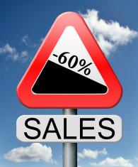 sales 60% off