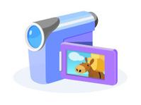 vector icon camcorder