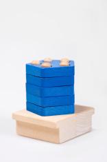 Wooden baby blocks