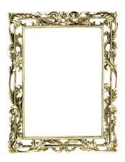 gold frame empty frame - Empty Frame