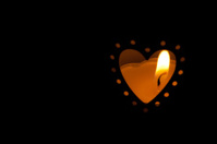 candle in the heart