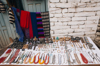 Curio shop in the himalayas.