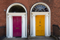 Two Georgian Doors