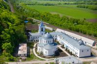 Divnogorsky Sacred Uspensky man's monastery in the summer