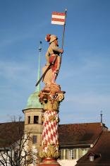Statue in Zofingen, Switzerland