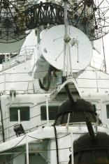 Radar and AA guns
