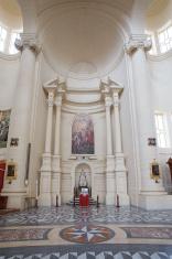 Interior of St. John the Baptist Church in Gozo.