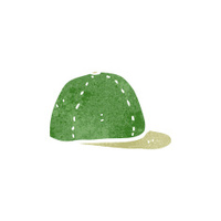 retro cartoon hat