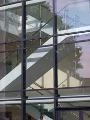 Modern stair well