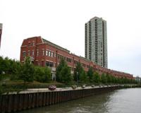 Chicago River & Condo's