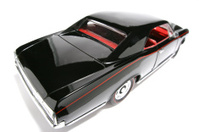 Scale classic US toycar 1966 fisheye picture
