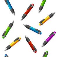 Different pens pattern