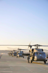 Blackhawk units in Afghanistan
