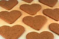 Gingerbread Heart Cookies