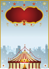 Christmas Circus in the city